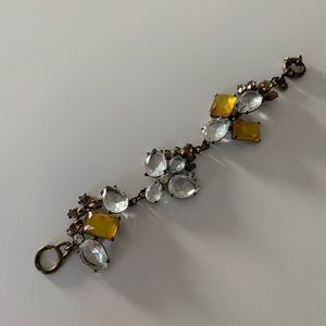 J. Crew Crystal Statement Bracelet